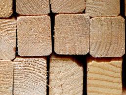 Kantówka, drewno konstrukcyjne